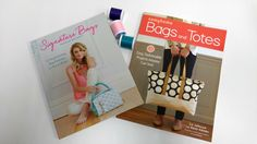 Enter for your chance to win 1 copy of Signature Bags, 1 copy of Sew4Home Bags and Totes, and 3 spools of thread. The deadline to enter is March 12, 2017 at 11:59:59 p.m. Eastern Time.