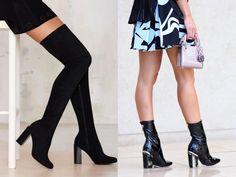 Tendência: Botas Outono/Inverno 2016: dois modelos andam chamando a minha atenção: a maxi over the knee e as botas de verniz. Um modelo se refere ao comprimento da bota e a outra ao material. Essas botas são bem estilosas e valorizam o look!