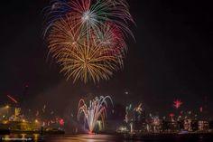 Silvester 2013/2014 Hafen Hamburg