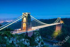 Clifton Bridge night illumination