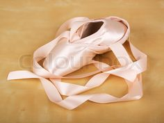 pointe shoe ribbons
