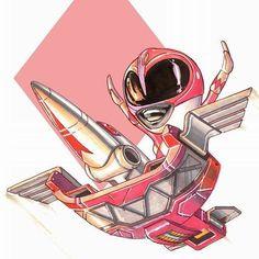 Chibi pink ranger
