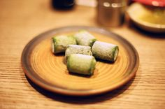 matcha ice cream - Sushi Tei