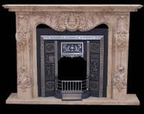Marble Unique is a direct importer of natural marble columns, column, fireplaces, fireplace, fountains, fountain, statues, statue, mantels, mantel.  #ClassicFireplaces: http://bit.ly/2fu3evB