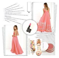 """""""NicePinkColor"""" by senseforstyle ❤ liked on Polyvore featuring LULUS, NYX, Herbivore, Anne Michelle and Katie"""