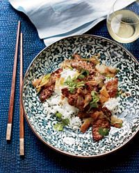 Spicy Sichuan-Style Lamb with Cumin Recipe from Food & Wine