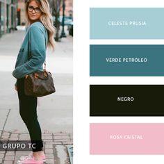 Predominio de colores pasteles para la vida urbana, un look sweet para lucir en la ciudad #PrendeteAlColor