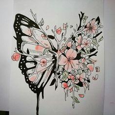 Butterfly metamorphose