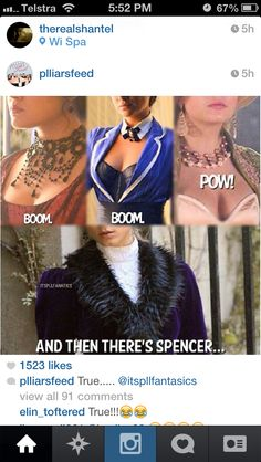Boom, boom, POW....and then there's Spencer - Pretty Little Liars