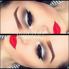 Lips #ririwoo.  Makeup Ideas