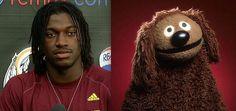 RGIII - Rowlf The Dog | All 32 NFL Quarterbacks & Their Muppet Doppelgangers