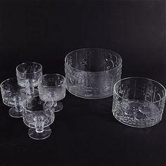 Oiva Toikka Nuutajärvi - Flora Flora, Mid-century Modern, Upcycle, Mid Century, Pottery, China, Glass, Silver, Vintage
