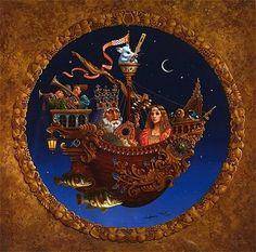 James Christensen - Ship of Dreams