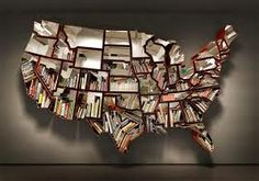 You could put books from which state into the same slot! Like a book that takes place in Nebraska, in the Nebraska slot!