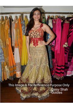 Daisy Shah Stylish Bollywood Replica Gown