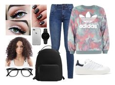 """""""Untitled #64"""" by mh142993 on Polyvore featuring s.Oliver, adidas, adidas Originals, MANGO and CLUSE"""