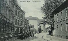 Osterode Ostpr. Bahnhofstrasse. 1913.