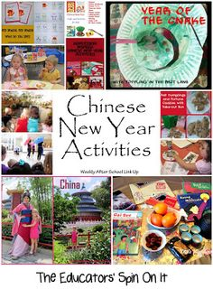 Chinese New Year Activities from The Educators' Spin On It