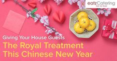 Giving Your House Guests the Royal Treatment on Chinese New Year - Read here: http://eatzcatering.com/blog/giving-your-house-guests-the-royal-treatment-on-chinese-new-year/. For a halal certified food caterer in Singapore go here:http://eatzcatering.com #eatzcatering #Buffet #chinesenewyear #cny #CNY2018 #CNYFeasts