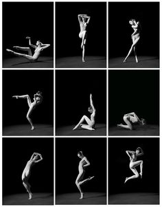 [Fig. 1] Study of Pose: 1,000 Poses by Coco Rocha and Steven Sebring