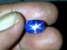 Royal Blue Star Sapphire 10.46Cts - Indah Mulia Gemstone