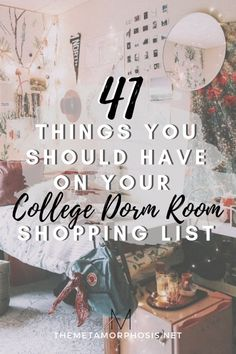 41 College Dorm Room Must-Haves for Freshman Year - The Metamorphosis Not sure what to get for your dorm room? Here are 41 college dorm room must-haves for the semester. All college students definitely need these college dorm essentials! College Dorm Essentials, Room Essentials, College Tips, College Packing, College Checklist, College Survival, College Must Haves, College Dorm Necessities, College Quotes