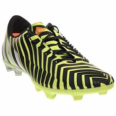 newest e2c73 608f8 Adidas - Predito Instinct FG J - M20162 - Color  Green-Blue-White - Size   6.0 ( Partner Link)   Soccer   Pinterest   Adidas