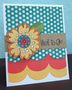 Way to Go by Donna3dlovesdogs - Cards and Paper Crafts at Splitcoaststampers