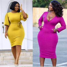 How to Look Classic Like Serwaa Amihere for Plus Size & Curvy Ladies 2019 – Outfits Best Casual Outfits, 30 Outfits, Curvy Outfits, Plus Size Outfits, Fashion Outfits, Fashion 2017, Casual Wear, Curvy Women Fashion, Look Fashion