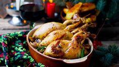 Křepelky jsou náchylné na vysušení, stačí jim 20 minut. Foie Gras, Peru, Chicken Wings, Poultry, Paleo, Turkey, Food, Sangria, Meringue