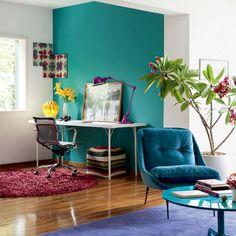 Como combinar meu sofá colorido? - Casa