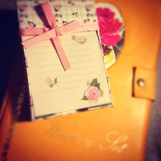 Things I love : -writing letters -receiving letters