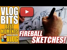 "Fireball draws a #MALIBU #RATROD - VLOG BITS SUBSCRIBE to the Vlog-Blog @ http://ift.tt/12aPqeo Fireball draws a #MALIBU #RATROD - VLOG BITS Watch Hollywood Car Designer Fireball Tim sketch a funny Malibu Rat Rod. What's a Rat Rod? A rat rod is a style of hot rod or custom car that in most cases imitates (or exaggerates) the early hot rods of the 1940s 1950s and early-1960s. The style is not to be confused with the somewhat closely related ""traditional"" hot rod which is an accurate…"