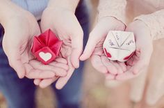 Heart Shaped Arrows and Cootie Catchers
