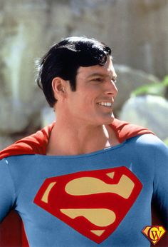 Christopher Reeve as Superman The Movie First Superman, Superman Movies, Superman Family, Superman Photos, Superman Stuff, Superman Art, Superman Logo, Comic Book Characters, Comic Character