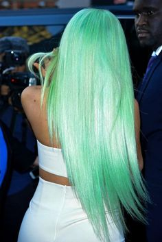 Lace Front wig manic panic green anne of green gables wig ash gray green hair elumen green lime green hair men ombre dark green hair dark forest green hair, Green Hair Men, Mint Green Hair, Green Wig, Mint Hair, Gray Green, Kylie Jenner Hair, Human Hair Wigs, Gorgeous Hair, Hair Looks