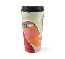 Red on a Starry Night Travel Mug Travel Mugs, Cups, Night, Tableware, Red, Shopping, Design, Mugs, Dinnerware