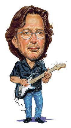 Eric Clapton Canvas Print / Canvas Art by Art