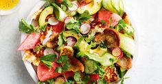 Watermelon and haloumi is a quick and easy, fresh summer salad combination perfect for easy entertaining.