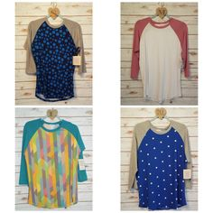 Shop LuLaRoe Marie Navara Randy T for sale Tuesday, August 16th at 7PM CST at https://www.facebook.com/groups/1677367409195643/