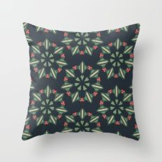 Flowers Throw Pillows Throw Pillow