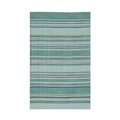 2013 Color of the Year: Seaglass | Multi-Colored Rug | CoastalLiving.com