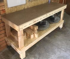 I have been needing to build some solid workbenches for around the workshop for quite a while now. The benches I was using previously were flimsy, narrow and not...