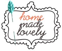 home made lovely- megan's home tour | Life Made Lovely - see ladder with mason jars - new project