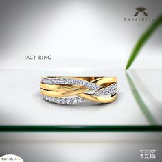 Nothing says 'Lets never give up on each other' like love bands. #diamond #gold…