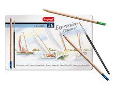 Lápis de cor BRUYNZEEL Expression Aquarel 36 cores
