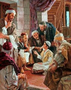 """""""My Treasure Box"""" : HIS-STORY: JESUS VISITS THE LORD'S TEMPLE"""