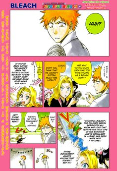 Bleach Colorful Omake