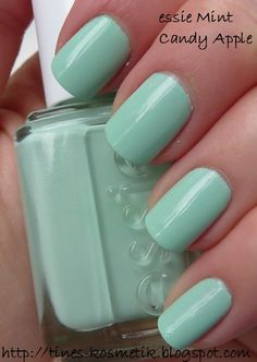 Essie - Mint Candy Apple....Love it!