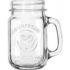 Glas Drinking Jar Logo, Specialty Libbey - 473ml